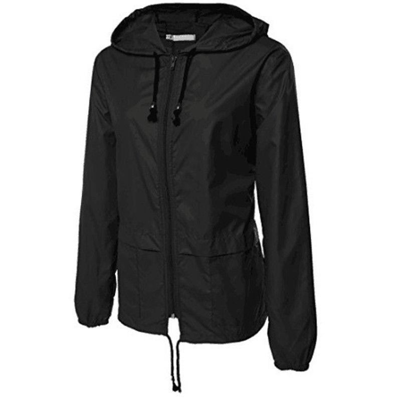 Womens Rain Ladies Hooded Outdoor Hiking