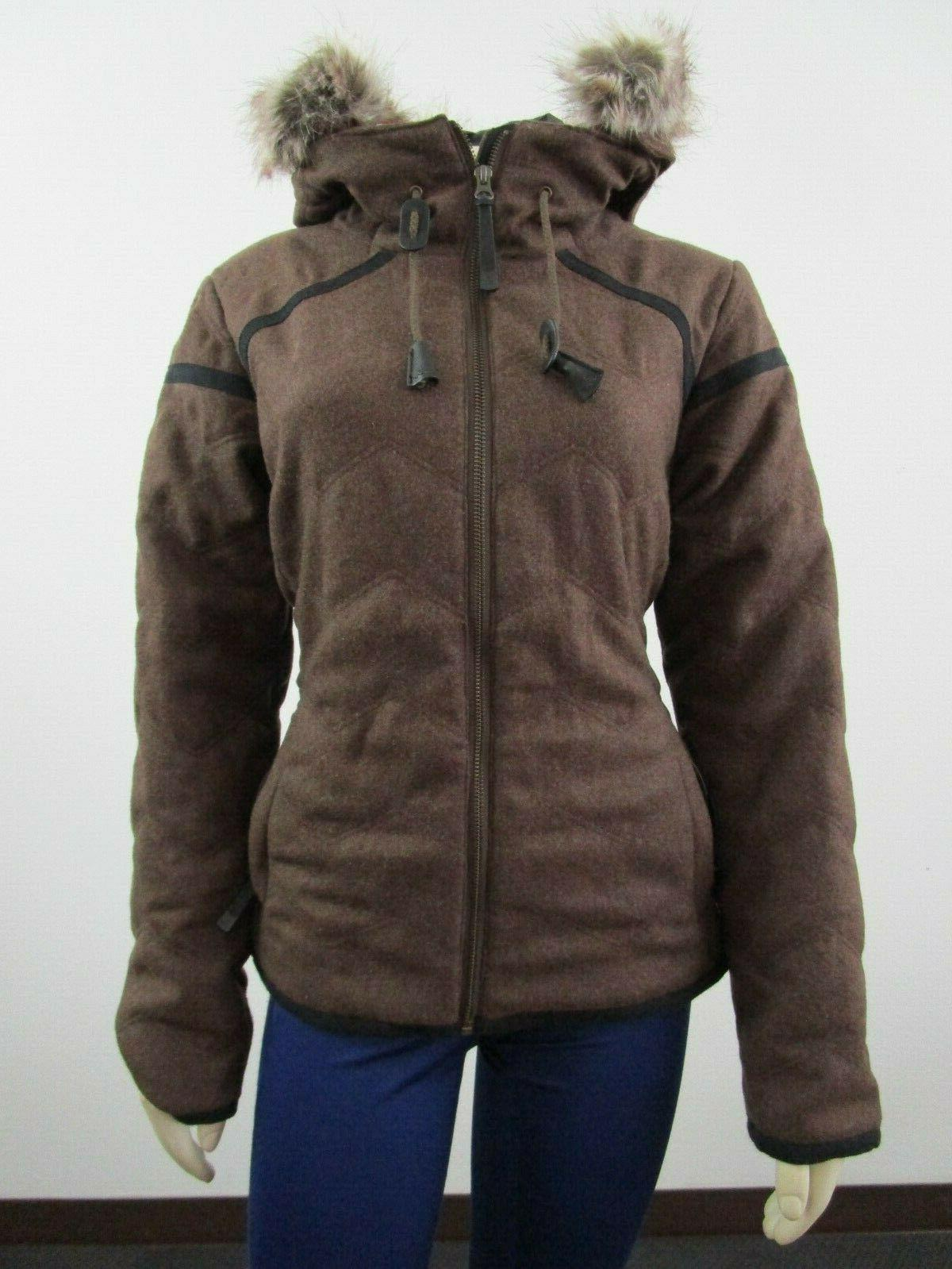 womens s l calla insulated hooded faux