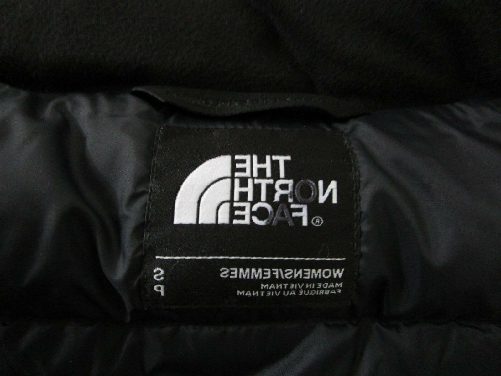 Womens S-M Face TNF Metropolis Long Down Jacket