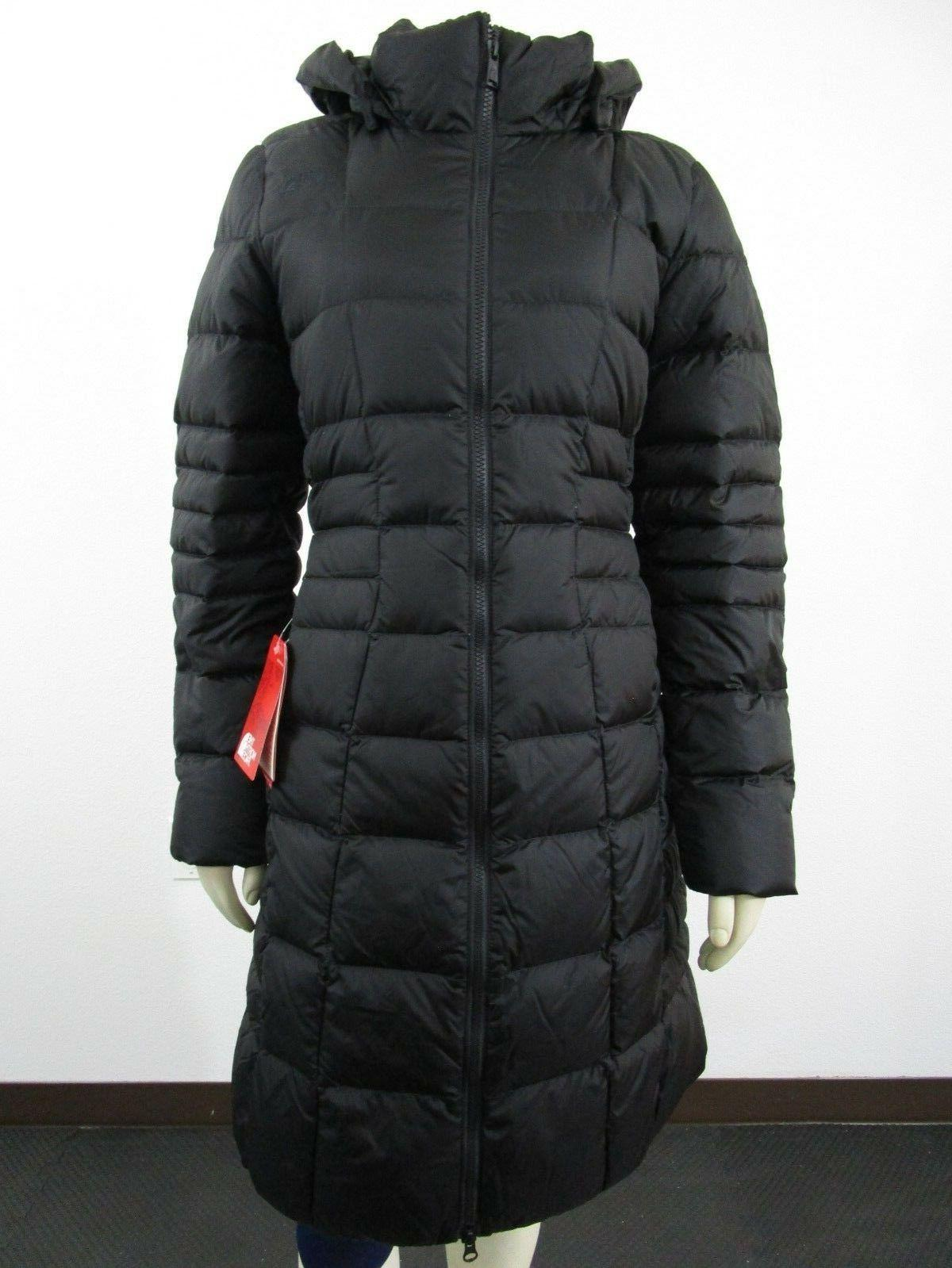 Womens S-M The North Face TNF Metropolis 2 Long Down Parka W