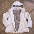 Motherhood Maternity Womens Size Medium Beige Coat Jacket Wi