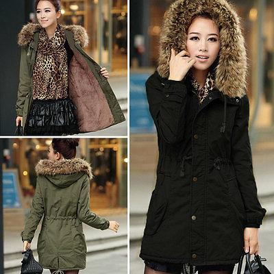 Womens Hooded Winter Warm Coat