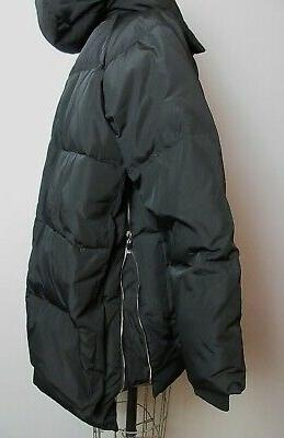 Orolay Women's Thickened Down Jacket XL Black Coat Puffer Winter Ski