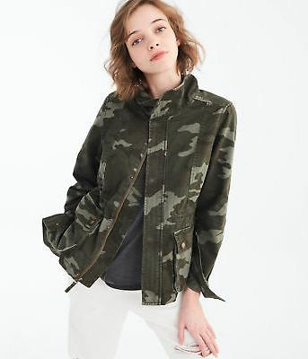 aeropostale womens twill jacket