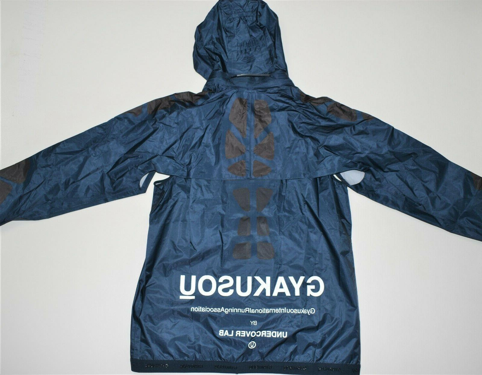Womens Hooded Jacket Multi Blue