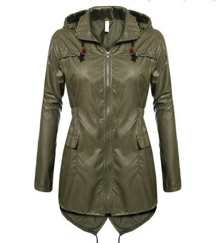 Womens Jacket Parka Hooded