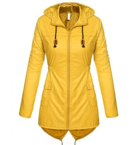 Womens Parka Fishtail Hooded
