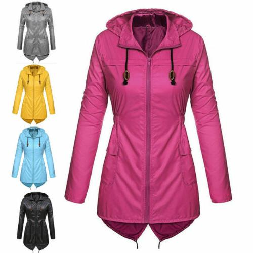 womens waterproof jacket parka fishtail ladies hoodies