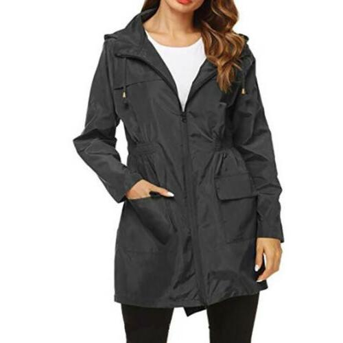 Womens Coat Slim For Rain