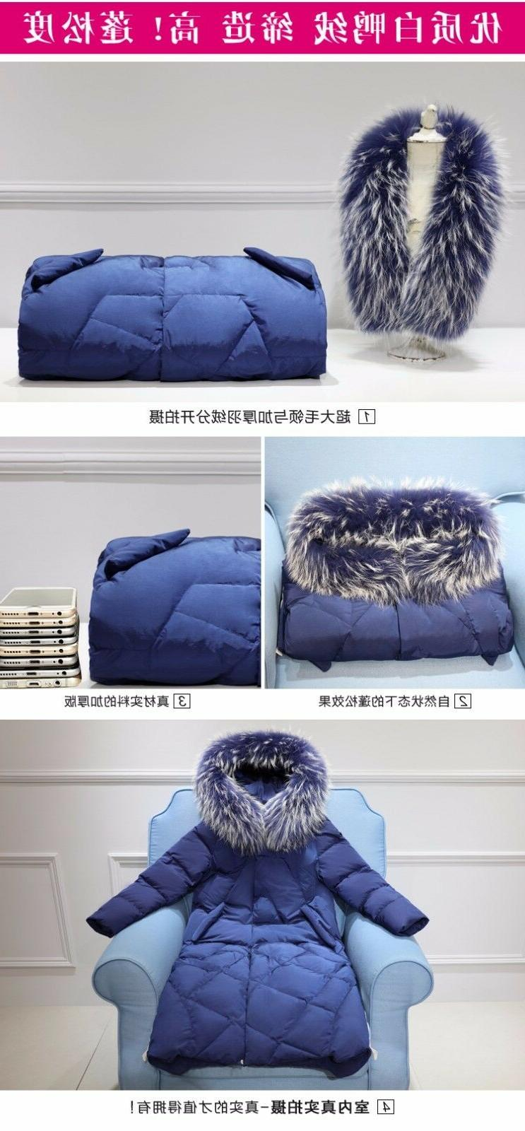 Womens Long Jacket Thick Warm Parkas Outwears Loose