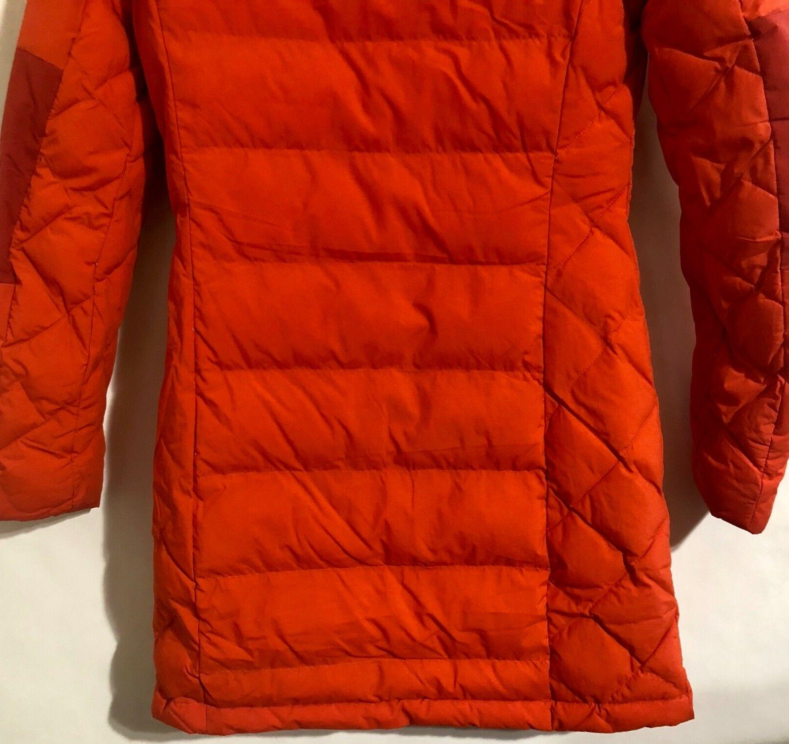 Columbia Womens XS-S-M-L Fighter Hooded Hot Pepper/Red