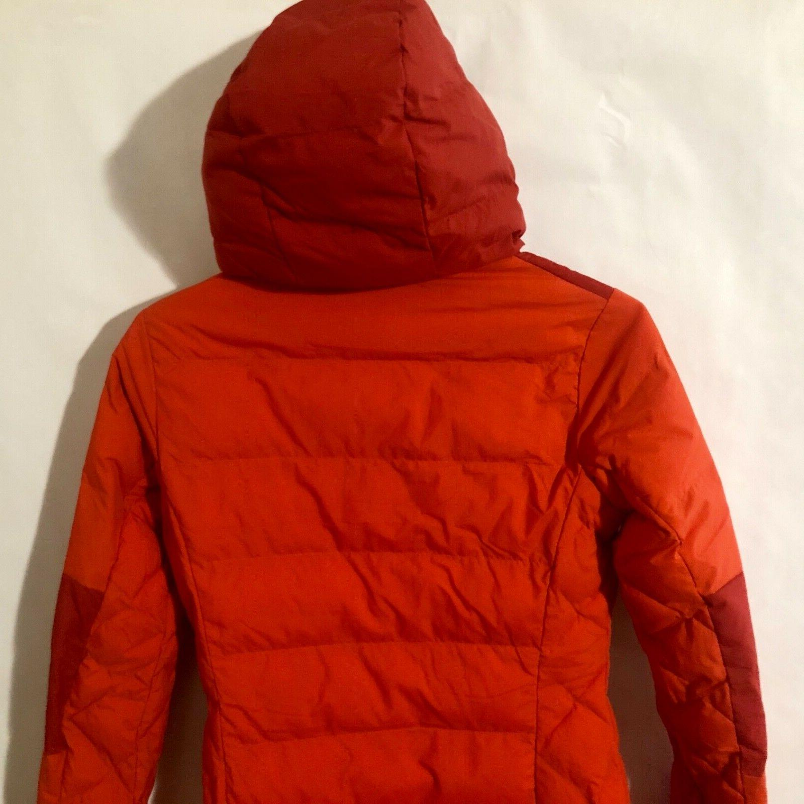 Columbia XS-S-M-L Fighter Length Jacket Hooded