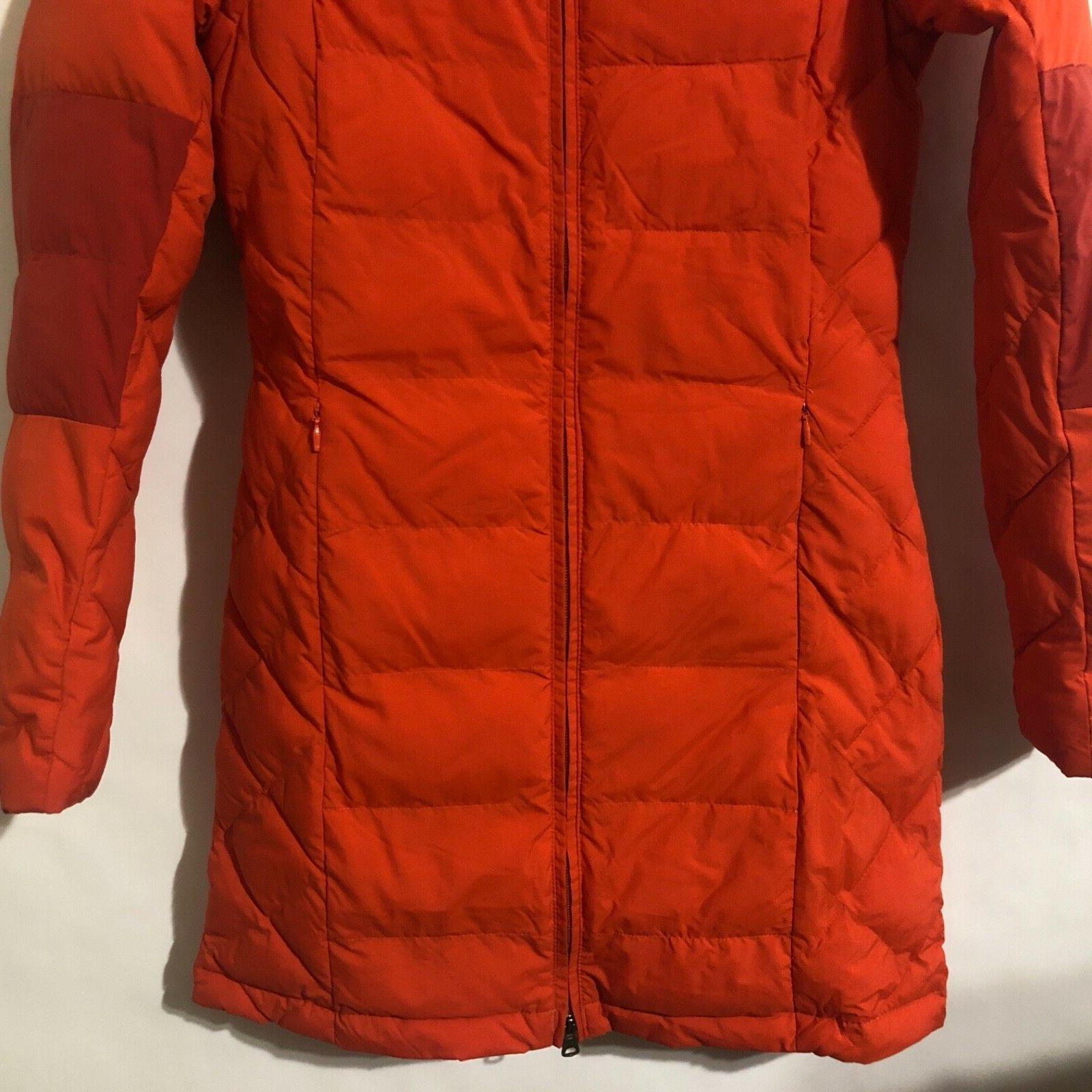 Columbia XS-S-M-L Fighter Mid Length Jacket Hooded Hot Pepper/Red