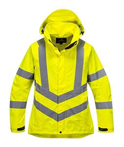 Portwest Ladies Hivis Breathable Jacket Viz Insulated Safety