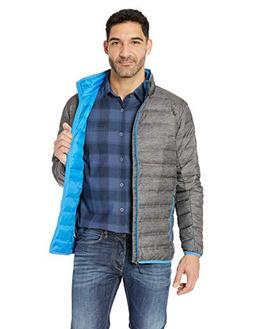 Columbia Men's Lake 22 Down Jacket Charcoal Heather Print/Az