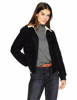 levi s women s faux leather sherpa