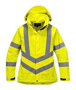 Portwest LW70 Women's High Visibility  Waterproof Jacket
