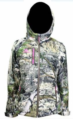 M XL Womens Waterproof Scent Control Mossy Oak Mountain Coun