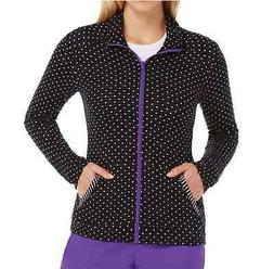 {MED} Barco KD110 Zip Front Jersey Sweater Jacket