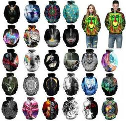 Men Women's Hoodie 3D Print Sweater Sweatshirt Jacket Coat P