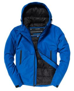 Mens Superdry Padded Elite SD-Windcheater Jacket Electric Bl
