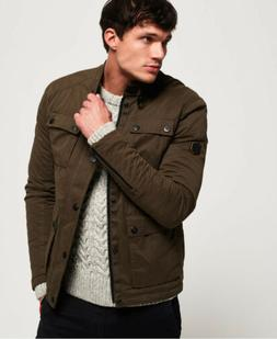 Mens Superdry Rotor Jacket Olive