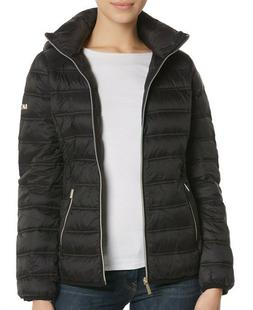 MICHAEL Michael Kors Womens Packable Quilted Puffer Down Jac