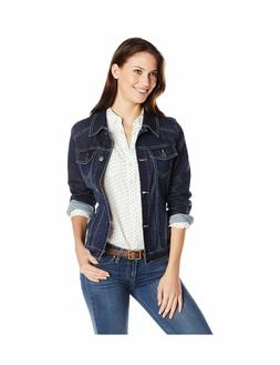Wrangler Authentics Womens Denim Jacket Drenched Medium