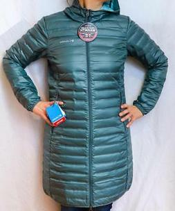 NEW COLUMBIA FLASH FORWARD LONG DOWN JACKET Women's S-M-L Pu