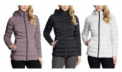 NEW!! 32 Degrees Heat Women's Hooded 4-Way Stretch Jacket Va