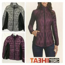 New jacket Women's 32 Degrees Heat Quilted Lightweight Down