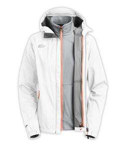 New THE NORTH FACE Momentum Triclimate Waterproof Jacket - W
