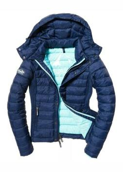 NEW RRP£84.99 LARGE SIZE WOMENS SUPERDRY FUJI SLIM DOUBLE Z