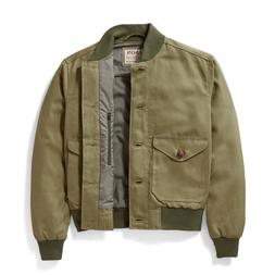 New with Tag Filson Libby Jacket Bomber Military Green Women
