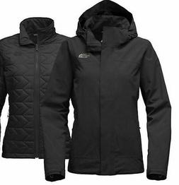NEW The North Face Women's Carto Triclimate Jacket NWT Black