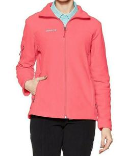 Women's COLUMBIA Fast Trek II Full Zip Fleece Jacket BLUSH P