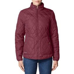 *NEW* Eddie Bauer Women's MOD Water-Repellent ThermaFill Qui