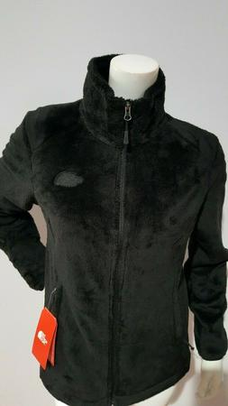 NEW THE NORTH FACE WOMEN'S OSITO 2 FLEECE BLACK JACKET SIZE