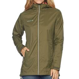 NEW Columbia Women's Plus Size Switchback Lined Long Hooded