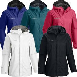 "New Womens Columbia ""Arcadia II"" Omni-Tech Waterproof Rain J"