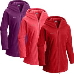 "New Womens Columbia ""Benton Springs II"" Long Hoodie Fleece J"