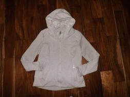 NEW Womens ACTIVE LIFE Heather Oatmeal Full Zip Sherpa Lined