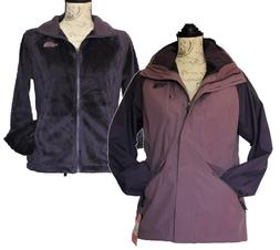 New The North Face Womens Jacket 3-in-1 Purple Boundary - Me
