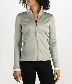 New Womens North Face Fleece Zip Jacket Agave Coat XS Small
