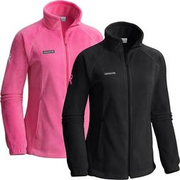 """New Womens Columbia """"Tested Tough in Pink"""" Benton Springs Fu"""