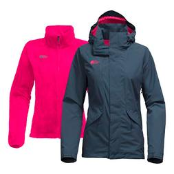 The North Face NF0A2TDLMLM Women's Gray Boundary Triclimate