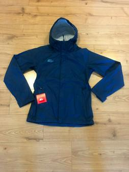 North Face Womens Venture Hooded Rain Jacket Waterproof Blue