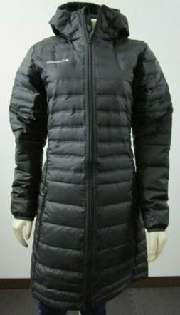 NWT Columbia 1839141010 Women McKay Lake Hooded 650 Down Lon