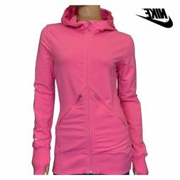 NWT $95 NIKE Womens Sz. Small DRI-FIT Running Full Zip Hoodi