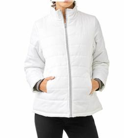 NWT Pregnant Faded Glory Maternity Lightweight Bubble Jacket